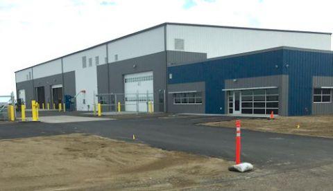 Casper Int'l Builds New Equipment Storage & Maintenance Facility