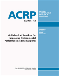ACRP Guidebook of Practices for Improving Environmental Performance at Small Airports