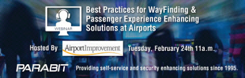 Best Practices for WayFinding and Passenger Experience Enhancing Solutions at Airports