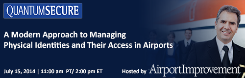 Free Webinar: Managing Physical Identities and Their Access in Airports