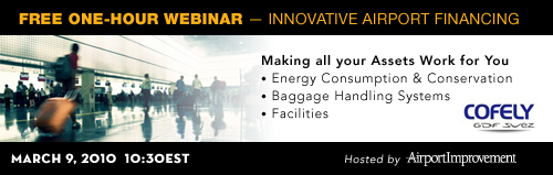 Free Webinar: Innovative Airport Financing