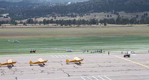 Air Force Academy Ditches Grass for Synthetic Turf | Airport