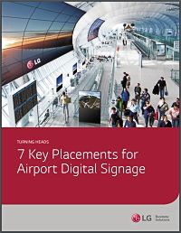 7 Key Placements for Airport Digital Signage