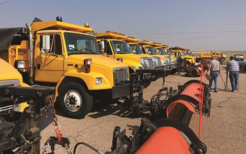 The annual surplus equipment sale is especially popular with small airports.