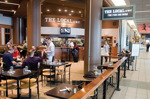 Manchester Regional Stresses Local Products At Main Restaurant Airport Improvement Magazine