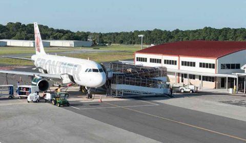 northeast florida regional demolishes old terminal erects new in rh airportimprovement com northeast florida regional airport code northeast florida regional airport sgj
