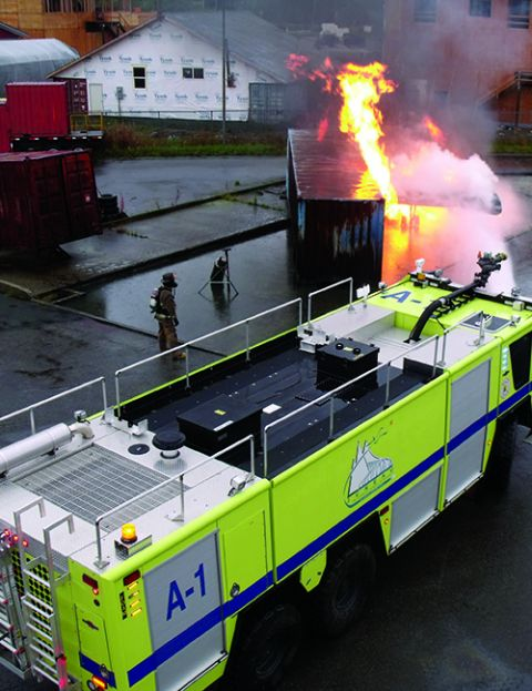 Vehicle and Station Expansion, Boost Emergency Response, Juneau Int'l