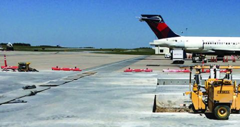 Greenville-Spartanburg Int'l Dovetails Ramp Replacement With Terminal Rehab
