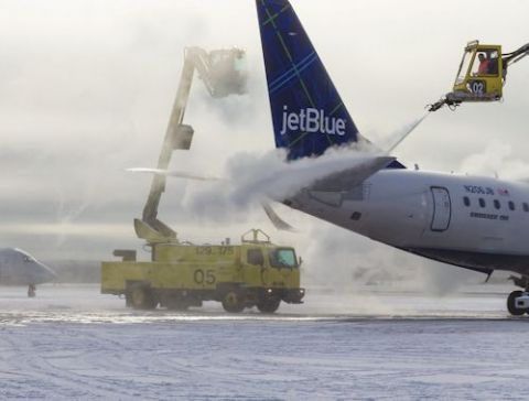 Portland Jetport Produces All of its Deicing Fluid In-House