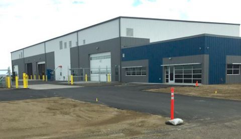 Casper Int'l Builds New Equipment Storage & Maintenance Facility