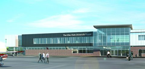 Ohio State University Airport Unveils New Terminal/Flight Training Center