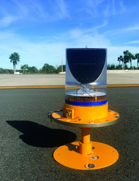 Portable Solar Lights Expedite Taxiway Project, Earn Spot in Permanent  System at Orlando Int'l