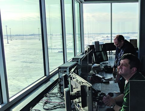 O'Hare Builds Central Deicing Facility to Improve Ground Flow