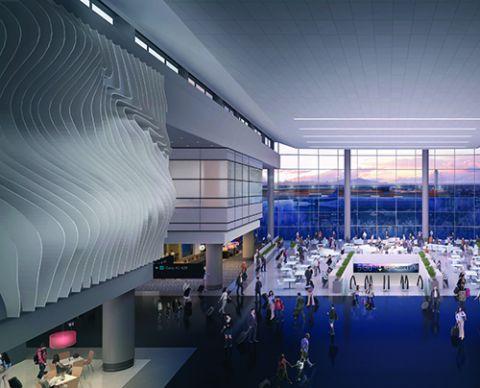 Salt Lake City Int'l Tests Designs & Components for Redevelopment Program