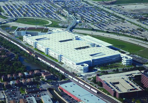 O Hare Combines Public Parking Shuttles Mass Transit Rental Car Operations Into One Facility Airport Improvement Magazine