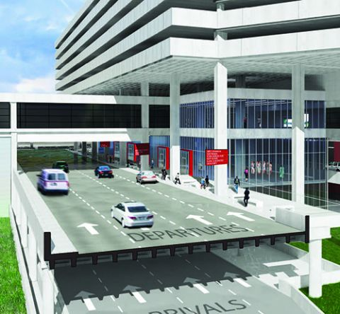 Express Curbsides at Tampa Int'l Will Allow Millions of Passengers to Bypass Ticketing/Baggage Lobby