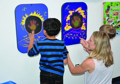 Miami Int'l Builds Multi-Sensory Room for Children With Autism