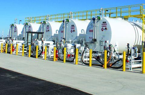 New Fuel Farm Increases Efficiency at Great Falls Int'l