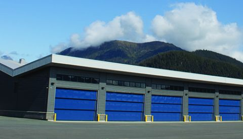 Snow Removal Equipment at Juneau Int'l Gets A New Home