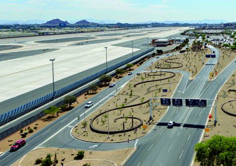 Phoenix Sky Harbor Saves Water & Money by Switching to Native Landscaping