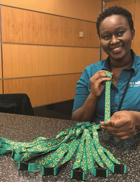Lanyards Heighten Awareness of Passengers With Hidden Disabilities