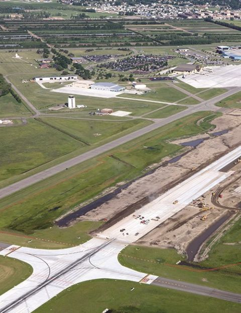Bismarck Airport Maintains Operations During Runway Replacement Project