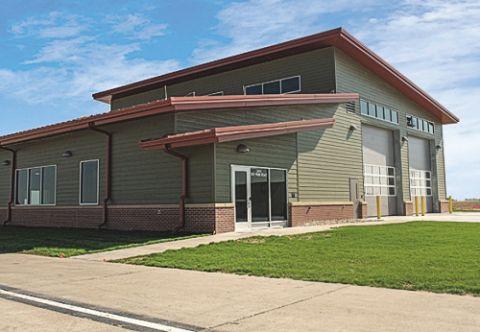 Central Nebraska Regional Builds New ARFF Station for New Fire Truck