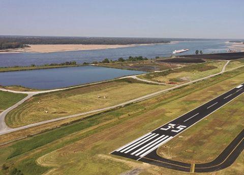 DeWitt Spain Airport Applies Sealcoat to Preserve New Runway Asphalt