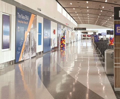 New Concourse at Nashville Int'l Updates City's Front Door, Facilitates More Expansion & Renovations