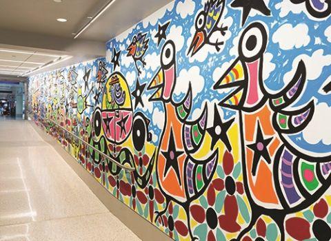 Urban Folk Art - Gerald R. Ford International Airport (GRR)