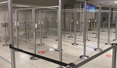 Pandemic Ushers in New Safety Measures at Dallas Fort Worth Int'l