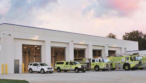 Greenville-Spartanburg Int'l Builds Bigger, Better ARFF Station