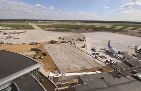 Ford Int'l Reconstructs & Expands Apron