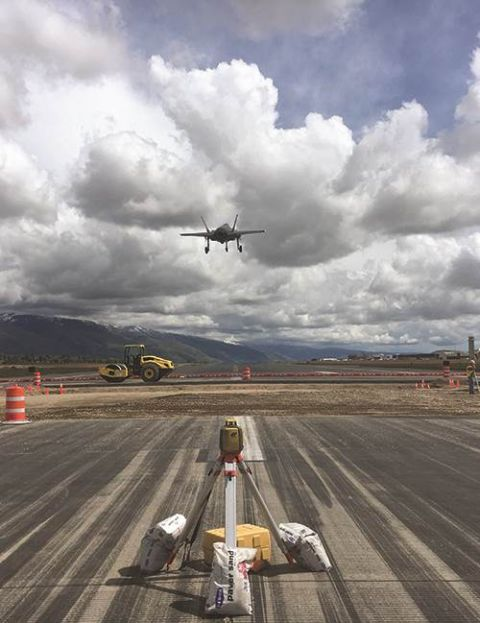 Smart Runway at Hill Air Force Base Could Change the Future of Airfield Pavement Design