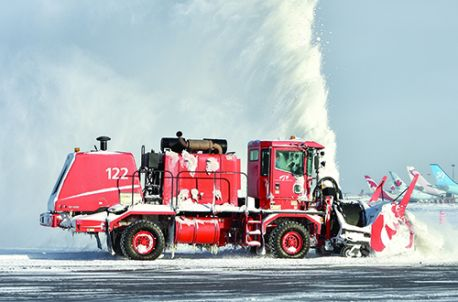 Proactive Fleet Management & Fiscal  Prudence Keep Montréal Trudeau Int'l  Prepared for Snowy Challenges