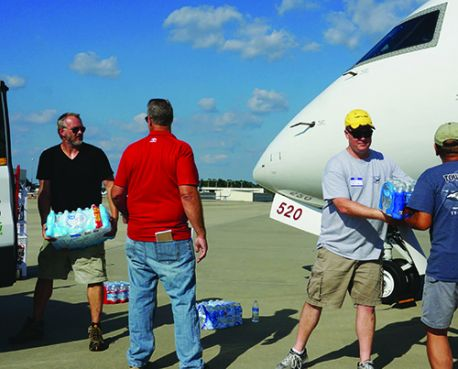 Operation Airdrop Brings Post-Hurricane Relief With Help of Airports & Volunteers