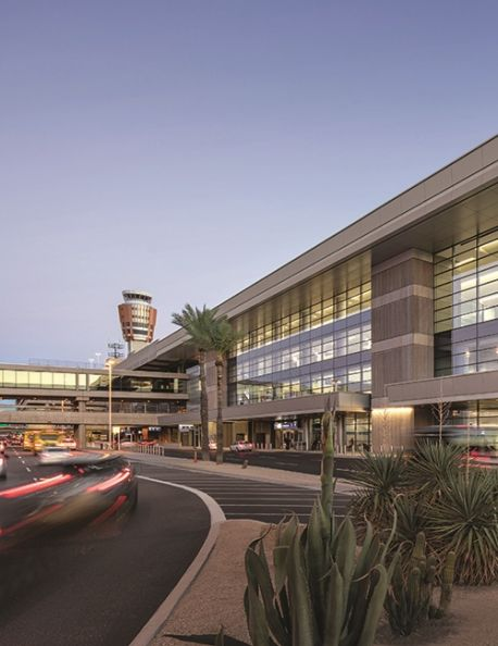 Transformation of Terminal 3 at Phoenix Sky Harbor Finishes with North & South Concourses
