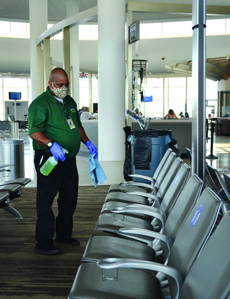 New Orleans Int'l Brings Janitorial Management In-House