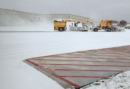 Test Slabs at Des Moines Int'l Bode Well for Electrically Heated Airside Pavement