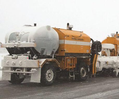 Buffalo Niagara Int'l Knows Snow
