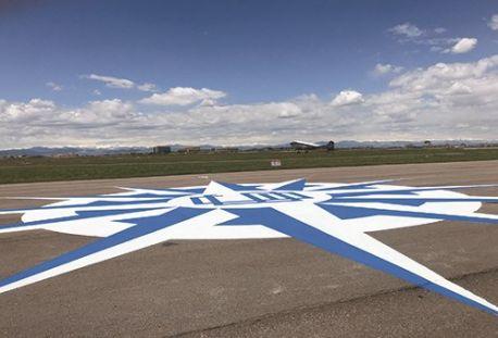 Airfield Art - Centennial Airport (APA) in Englewood, CO