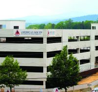 New Parking Structure at Asheville Regional Showcases Local Landscape