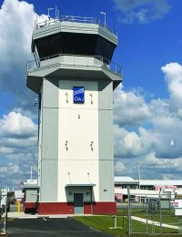 Contract Control Tower Opens at Albert J. Ellis Airport