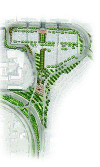 El Paso Int'l Creates Airport Neighborhood With Paved Walkways, Lighting & Landscaping