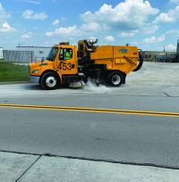 Cincinnati/Northern Kentucky Int'l Uses Green Products to Address Common Airfield Challenges