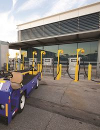 Long Beach Airport & Airline Partners Phase Out Fossil Fuels for Ground Support Equipment